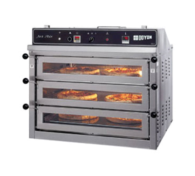 Doyon PIZ3G Triple Deck Countertop Pizza Oven, NG