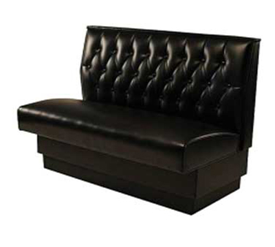 "Aaf BB-WB48GR5 Wall Bench w/ Upholstered Seat & Button Tufted Back, Seat, 48"" H, Grade 5"