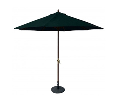 AAF UMB/PIN 7-ft Umbrella w/ Pin & Weatherproof Solution Dyed Acrylic Fabric