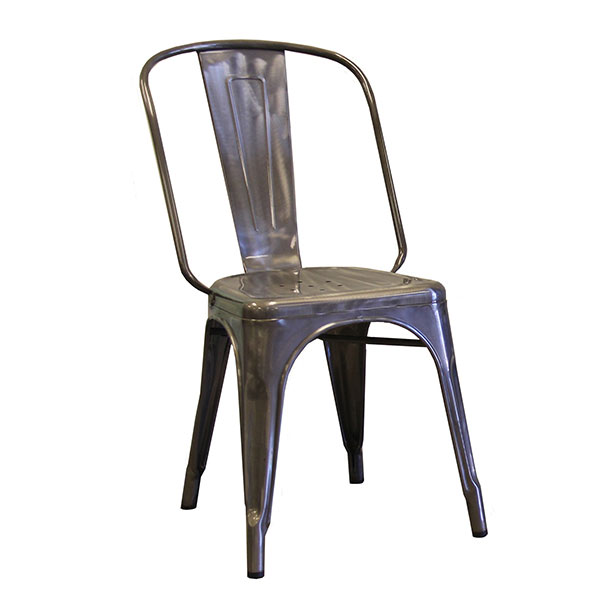 AAF MC130 Recycled Steel Chair - Clear Coating