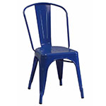 AAF MC130 Recycled Steel Chair - Blue Coating