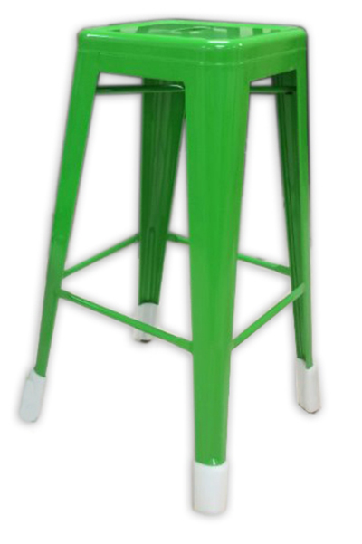 "AAF MC18 18"" Barstool - Recycled Steel, Green Coating"