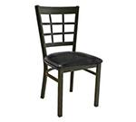 Aaf MC450BL Side Chair - 9-Grid