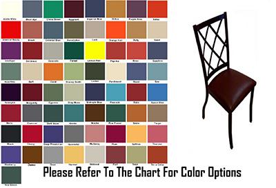 AAF MC460GR6 Upholstered Side Chair w/ Metal Diamond Back & Grade 6,