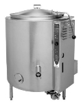 Blodgett 100G-KLS NG 100-Gallon Stationary Stainless Kettle w/ Hinged Cover, NG