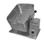 Blodgett 10E-BTT 2403 10-Gallon Counter Tilting Braising Pan w/ Rectangular Pan, 240/3 V