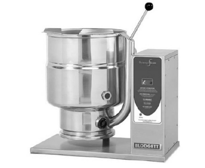 Blodgett 10E-KTT 2081 10-Gallon Table Top Tilting Kettle w/ Manual Tilt, 208/1 V