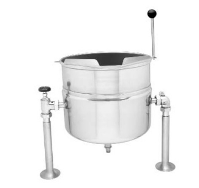 Blodgett 12DS-KTT 12-Gallon Direct Steam Stainless Table Top Manual Tilting Kettle