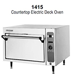 Blodgett 1415BASE Multi Purpose Deck Oven, 220v/1ph