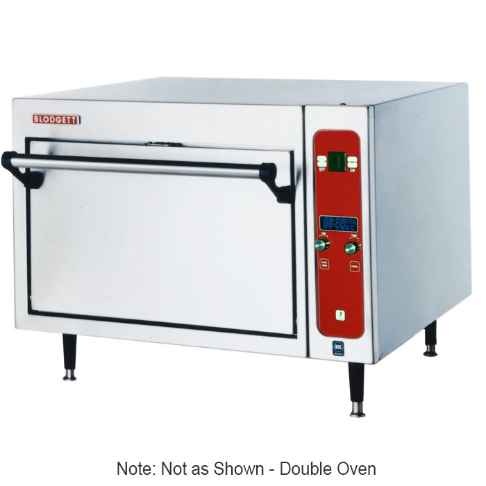 Blodgett 1415DOUBLEA Countertop Pizza Oven - Double Deck, 220v/1ph