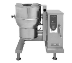 Blodgett 20E-KLT 2083 20-Gallon Stainless Manual Crank Self-Lock Tilting Kettle, 208/3 V