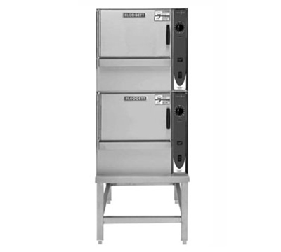 Blodgett (2) 5E-SBC  2083 2-Stack Convection Steamer w/ Stand, 5-Full Pan, 208/3 V