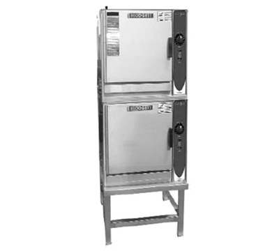 Blodgett (2) 3E-SN 2083 2-Stack Convection Steamer w/ Manual Control & Stand, 208/3 V