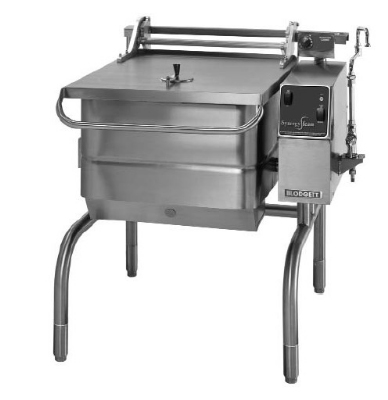 Blodgett 30G-BLP LP 30-Gallon Manual Control Braising Pan w/ Motorized Tilt, LP