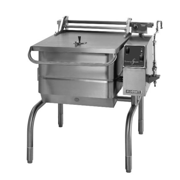 Blodgett 30G-BLP NG 30-Gallon Manual Control Braising Pan w/ Motorized Tilt, NG