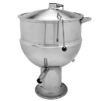 Blodgett 40DS-KPS 40-Gallon Stationary Kettle w/ Hinged Cover & Pedestal