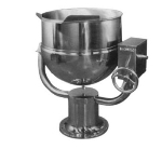 Blodgett 40DS-KPT 40-Gallon Direct Steam Manual Tilting Kettle w/ Pedestal Base