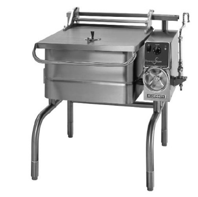 Blodgett 40E-BLT 2801 40-Gallon Braising Pan w/ Manual Crank Tilt & Controls, 208/1 V