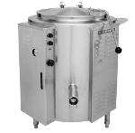 Blodgett 40E-KLS 2083 40-Gallon Stainless Stationary Kettle w/ 1-Piece Cover, 208/3 V