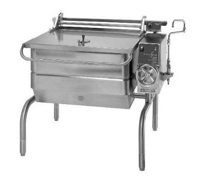 Blodgett 40G-BLT NG 40-Gallon Braising Pan w/ Manual Controls & Tilt, NG