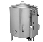 Blodgett 40G-KLS LP 40-Gallon Stationary Kettle w/ Hinged Cover, LP