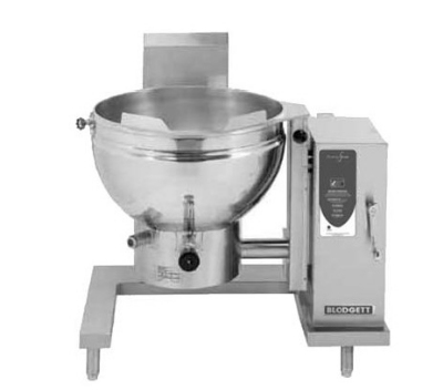 Blodgett 40GS-KLT NG 40-Gallon Manual Crank Self-Locking Tilting Kettle, NG
