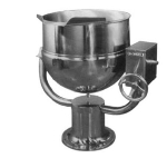 Blodgett 60DS-KPT 60-Gallon Manual Tilting Kettle w/ Direct Steam & Pedestal