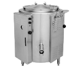Blodgett 60E-KLS 60-Gallon Stationary Kettle w/ Spring Assist Cover, 208/3v