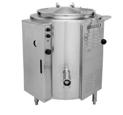 Blodgett 60E-KLS 2403 60-Gallon Stationary Kettle w/ Spring Assist Cover, 240/3 V