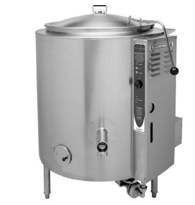 Blodgett 60G-KLT NG 60-Gallon Manual Self Locking Tilting Kettle, NG