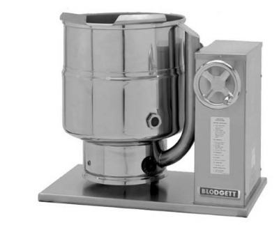 Blodgett 6E-KTC 2403 6-Gallon Table Top Tilting Kettle w/ Manual Gear Box Tilt, 240/3 V