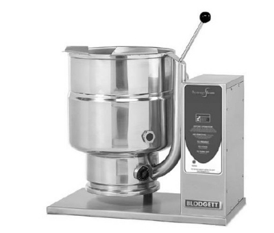 Blodgett 6E-KTT 2083 6-Gallon Table Top Manual Tilting Kettle, Reinforced Rim, 208/3 V