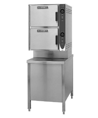 Blodgett 6E-SC 2081 2-Compartment Convection Steamer, 24-in Cabinet Base, 208/1 V