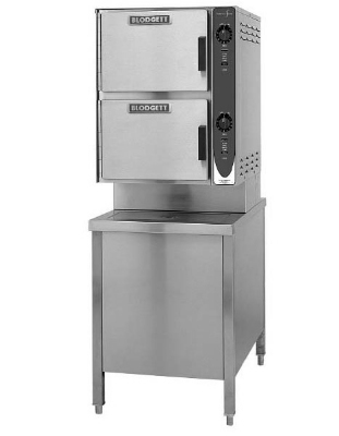 Blodgett 6G-SC LP Manual Control Convection Steamer, 24-in Cabinet Base, LP