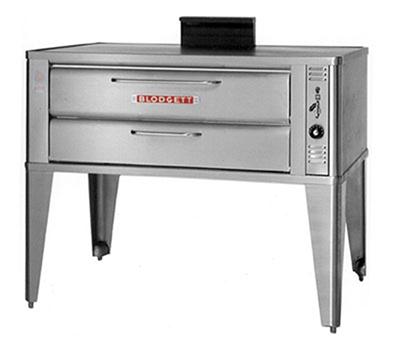 Blodgett 911P DOUBLE Double Pizza Deck Oven, LP