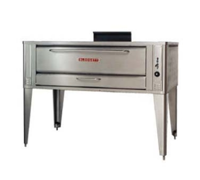 Blodgett Oven 961 BASE Deck Type Gas Oven (base only) 42 W x 32 D (1) 7 H Section NG Restaurant Supply