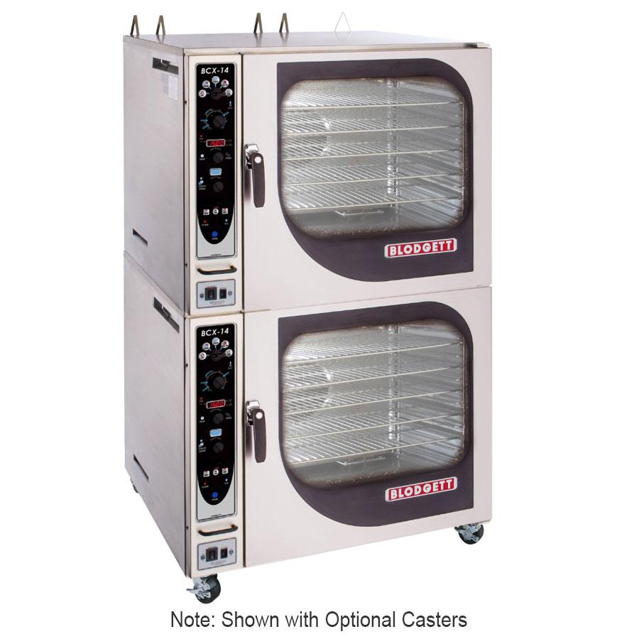 Blodgett BCX-14GDOUBL Double Full-Size Combi-Oven - Boiler Based, NG
