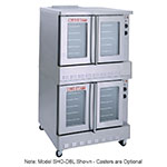 Blodgett BDO-100G-ESDBL Double Full Size Gas Convection Oven - NG