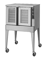 Blodgett ZEPH-200-ESINGL Deep Depth Electric Convection Oven - 208v/1ph