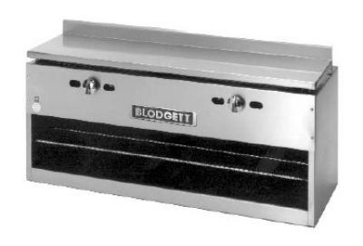 "Blodgett BPCM-48 48"" Infrared Burner Gas Cheese Melter, lLP"