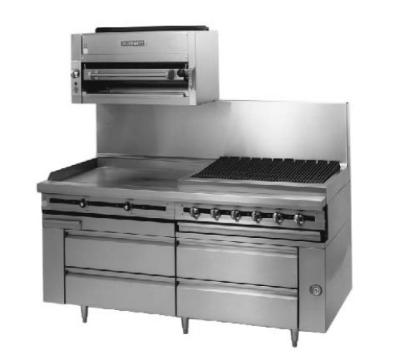 """Blodgett BPFLH-02R-T-36 36"""" Chef Base w/ (2) Drawers - 115v"""
