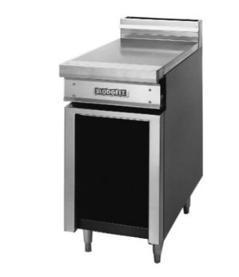 Blodgett BPP-12SD NG 12-in Standard Spreader Cabinet w/ Open Cabinet Base & Door, NG