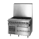 "Blodgett BPRLH-02S-T-36 36"" Chef Base w/ (2) Drawers - 115v"