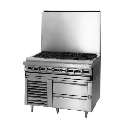 "Blodgett BPRLH-02S-T-48 48"" Chef Base w/ (2) Drawers - 115v"