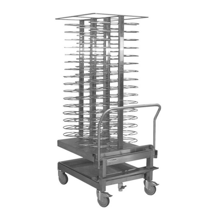 Blodgett CART 96 Banquet Cart, Holds  96 Plates/3 in Spacing, Casters, 304 Stainless