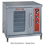 Blodgett CTB 2 Double Half Size Electric Convection Oven - 208v/3ph