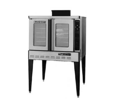 Blodgett DFG-100 ADDL Full Size Gas Convection Oven - LP