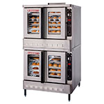 Blodgett DFG-100 DBL Double Full Size Gas Convection Oven - LP