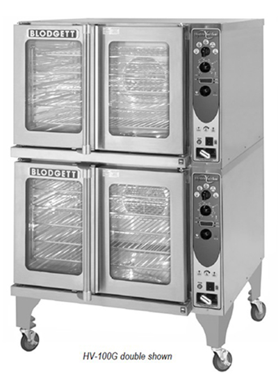 Blodgett HV-100G SGL Full Size Gas Convection Oven - NG