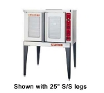 Blodgett MARKV-100SINGL Full Size Electric Convection Oven - 208v/3ph